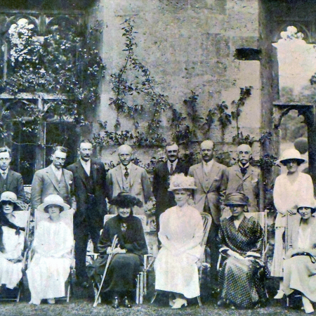 Queen Mary's visit to Sudeley Castle, 1922
