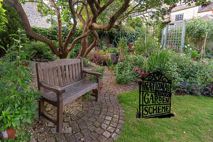 The Gate Open Garden