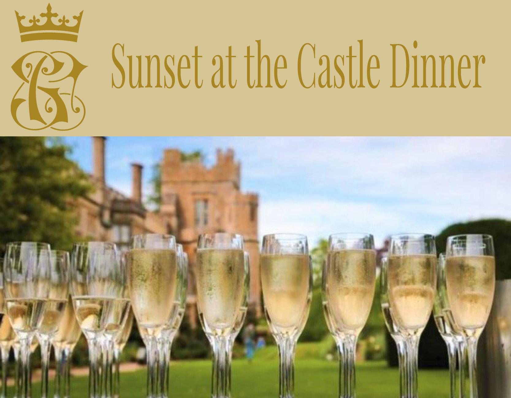 Sunset at the Castle Dinner