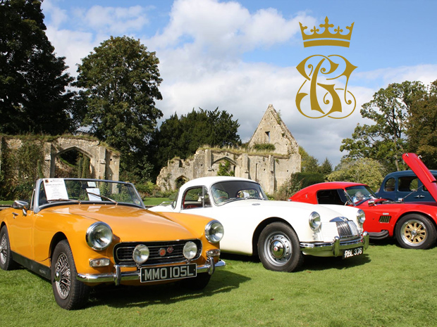 Classic Car Rally at Sudeley Castle