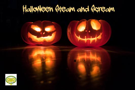 Halloween Steam and Scream
