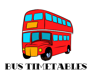 New Bus Timetables