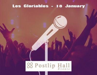 Les Gloriables at Postlip Hall