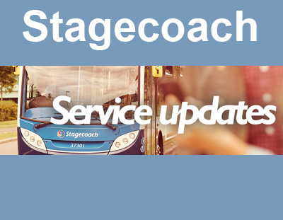 Temporary Stagecoach Timetable