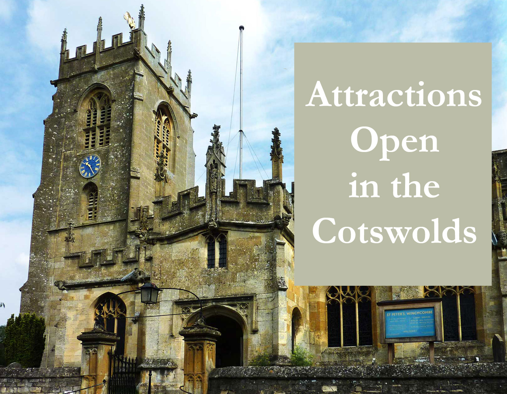 Attractions Open in the Cotswolds
