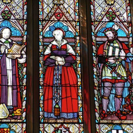 Stained Glass - Lady Jane Grey
